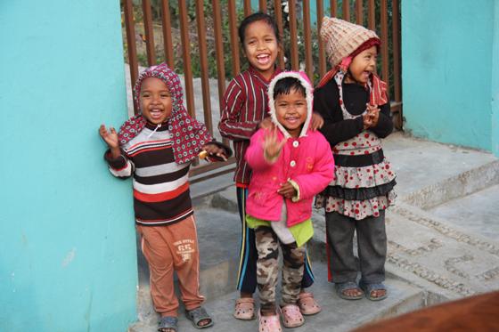 Weihnachtsspende für Nepal